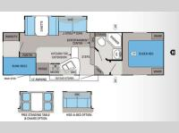 Floorplan - 2013 Jayco Eagle HT 27 5BHS