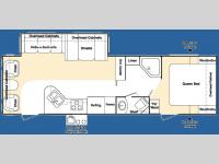 Floorplan - 2007 Keystone RV Outback Sydney Edition 30RLS
