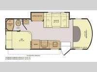 Floorplan - 2013 Fleetwood RV Jamboree DSL 24D