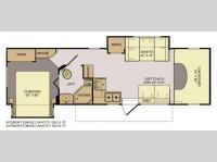 Floorplan - 2013 Fleetwood RV Jamboree 31M