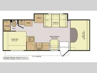 Floorplan - 2013 Fleetwood RV Tioga Montara 25K
