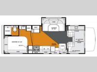 Floorplan - 2013 Forest River RV Forester 2451S Ford