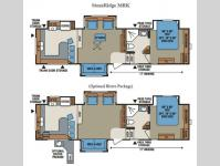 Floorplan - 2013 KZ StoneRidge 36RK