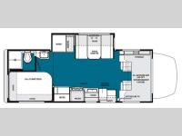Floorplan - 2013 Forest River RV Solera 24S