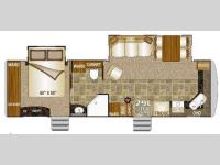 Floorplan - 2013 Northwood Arctic Fox 29L