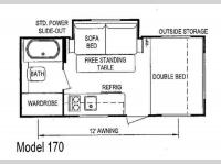 Floorplan - 2013 Skyline Bobcat 170