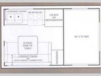 Floorplan - 2013 Pastime Manufacturing Truck Campers 750SD