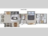 Floorplan - 2013 Keystone RV Alpine 3720FB