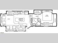 Floorplan - 2013 DRV Luxury Suites Mobile Suites 36RSSB3