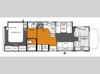Floorplan - 2013 Forest River RV Forester 3051S