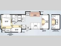 Floorplan - 2011 Winnebago Chalet 31J