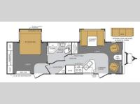 Floorplan - 2013 Forest River RV Wildcat Maxx 27FLS