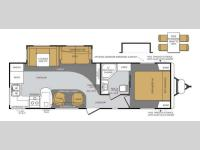 Floorplan - 2013 Forest River RV Wildcat Maxx 28RKX
