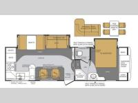 Floorplan - 2013 Forest River RV Wildcat Maxx 282RK