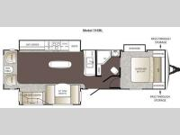 Floorplan - 2013 Keystone RV Outback 316RL