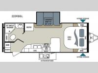 Floorplan - 2013 Dutchmen RV Aerolite 225RBSL