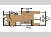 Floorplan - 2012 Dutchmen RV Coleman CTU 240RB
