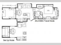 Floorplan - 2013 DRV Luxury Suites Mobile Suites 40 LKSBG