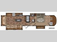Floorplan - 2013 Dutchmen RV Infinity 3860MS