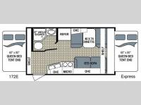 Floorplan - 2013 Dutchmen RV Kodiak 172E Express