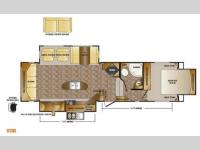 Floorplan - 2013 CrossRoads RV Sunset Trail Reserve SF32RL