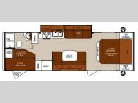 Floorplan - 2013 Forest River RV Surveyor Cadet SC 280BH