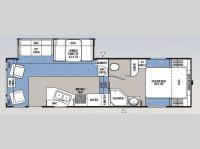 Floorplan - 2006 Coachmen RV Chaparral 276RLS