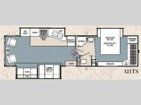 Floorplan - 2007 Coachmen RV Chaparral 321TS