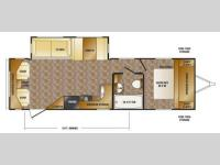Floorplan - 2013 CrossRoads RV Cruiser Aire CTL29RL