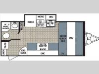 Floorplan - 2013 Dutchmen RV Kodiak 173QBSL Express