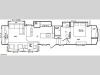 Floorplan - 2014 DRV Luxury Suites Tradition 390RESS
