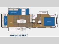 Floorplan - 2014 Prime Time Manufacturing Crusader 295RST