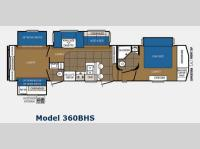 Floorplan - 2014 Prime Time Manufacturing Crusader 360BHS