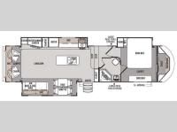 Floorplan - 2014 Forest River RV Wildwood Heritage Glen 336RLT