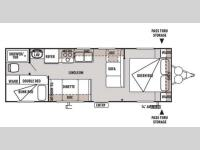 Floorplan - 2014 Forest River RV Wildwood X-Lite 261BHXL