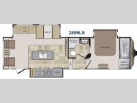 Floorplan - 2014 Keystone RV Cougar 280RLS
