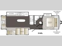 Floorplan - 2014 Keystone RV Outback 316RL