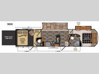 Floorplan - 2014 Dutchmen RV Voltage V3600