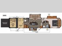 Floorplan - 2014 Dutchmen RV Voltage V3950