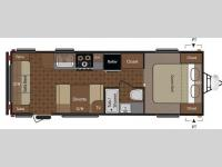 Floorplan - 2014 Keystone RV Summerland 2560RL