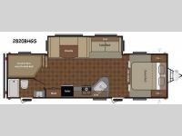 Floorplan - 2014 Keystone RV Summerland 2820BH