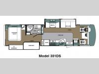 Floorplan - 2014 Forest River RV Georgetown 351DSF