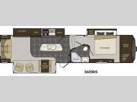 Floorplan - 2014 Keystone RV Alpine 3600RS
