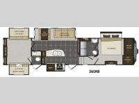Floorplan - 2014 Keystone RV Avalanche 360RB