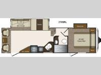 Floorplan - 2014 Keystone RV Laredo Super Lite 270SRL