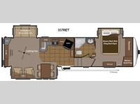Floorplan - 2014 Keystone RV Mountaineer 337RET