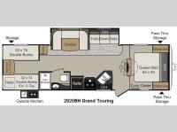 Floorplan - 2014 Keystone RV Passport 2920BH Grand Touring