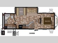 Floorplan - 2014 Keystone RV Sprinter 266RBS