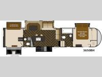 Floorplan - 2014 Heartland Gateway 3650 BH