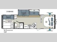 Floorplan - 2014 Dutchmen RV Aerolite 315BHSS
